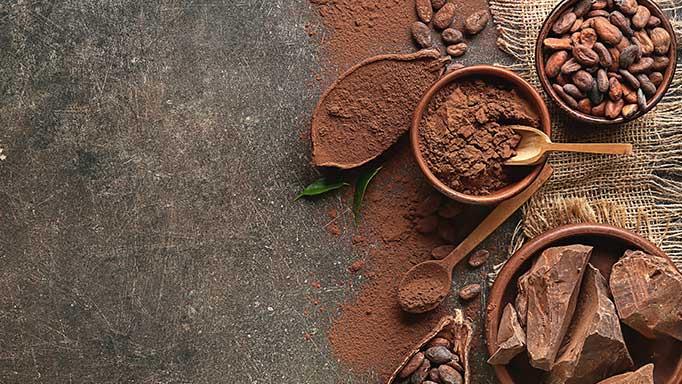 Cacao semiacabados