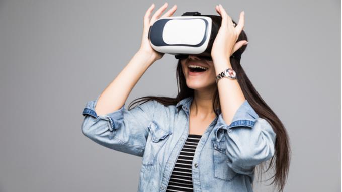 Utilizando un VR