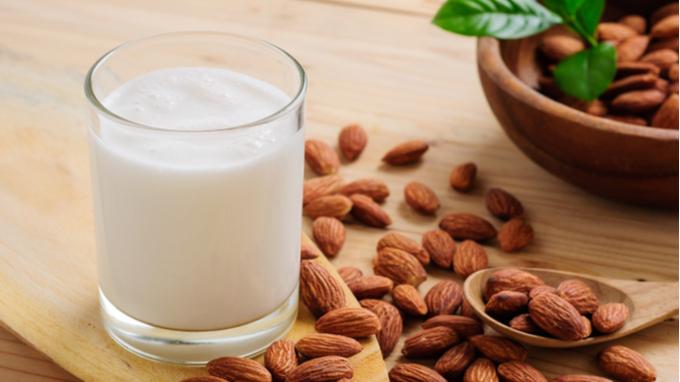 leche de almendra