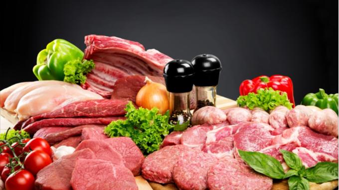 Variedad de carnes rojas.