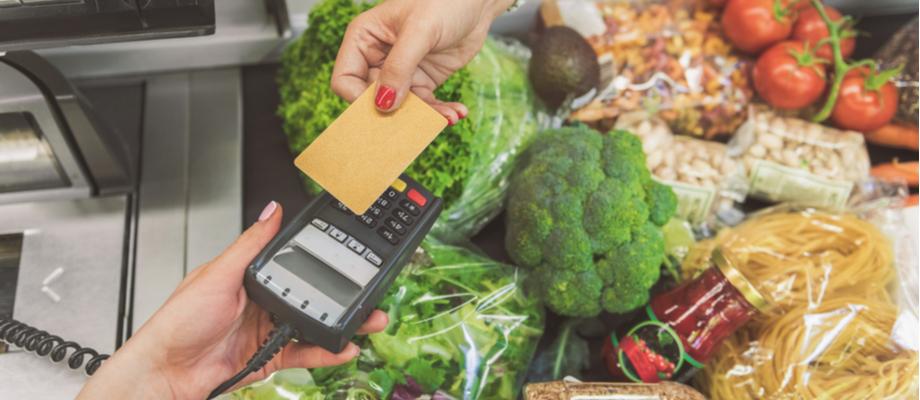 Pago de supermercado sin contacto