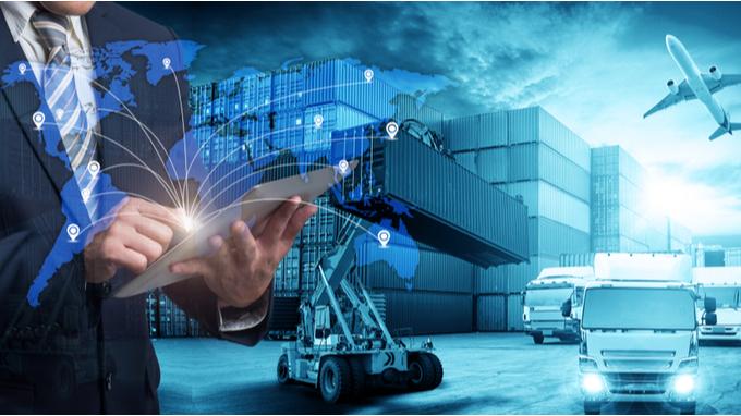 Mpa del mundo. Referecias al comercio exterior y la logística de exportación.